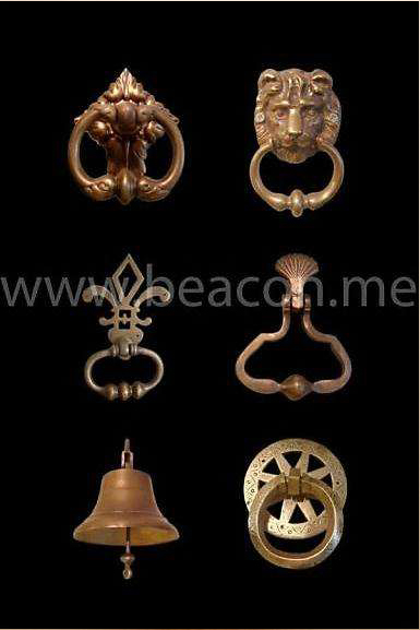 Accessories Brass Door Handle BACS 001-04