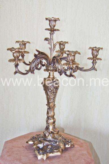 Brass Candle Holder BACS 003-03