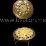 Accessories Brass Finish Clocks BACS 004-03