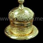 Accessories Brass Bowel with Platter BACS 009-03