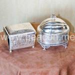 Silver Jewelry Box BACS 009-13
