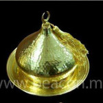 Accessories Brass Platter with Cover BACS 009-01
