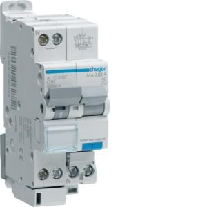 Дифференциальный автоматический выключатель 1P+N 4,5kA C-16A 10mA AC-тип