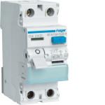 Устройство защитного отключения 2P, 63A, 30mA, A-тип, Hager