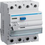 Устройство защитного отключения 4P, 40A, 500mA, A-тип, Hager