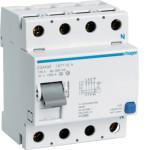 Устройство защитного отключения 4P, 125A, 500mA, A-тип, Hager