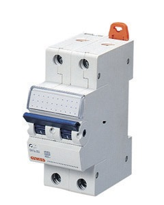 Миниатюрный автоматический выключатель 1 полюс + N 50А  6kA C характеристика, Gewiss