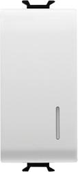 Двухсторонний переключатель 1P одномодульный c подсветкой