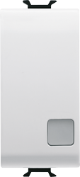 Кнопка 2P(NO) одномодульная c подсветкой