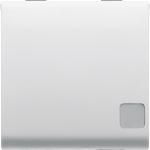 Выключатель 1P двухмодульный с индикатором