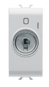 Односторонний переключатель  с ключем