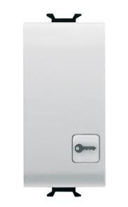 Кнопка (NO)  с символом «Ключ»