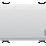 Двухсторонний переключатель 1P трехмодульный с индикатором