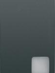 Двухсторонний переключатель 1P одномодульный с индикатором