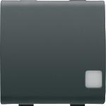 Промежуточный переключатель 1P двухмодульный с индикатором