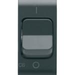 Автоматический выключатель 1P+N C6 3kA 230V AC