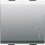 Кнопка 1P(NO)  двухмодульный с подсветкой
