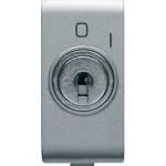 Кнопка 2P(NO) с ключем