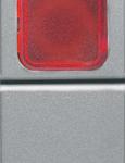 Кнопка 1P(NО) одномодульная с красным  индикатором