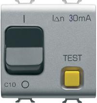 Автоматический дифференциальный выключатель 1P+N C10 3kA 30mA 230V AC
