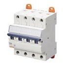 Миниатюрный автоматический выключатель 4 полюсный, 40А  6kA C характеристика