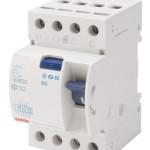 Устройство защитного отключения 4P, 40A, 30mA, A-тип, Gewiss