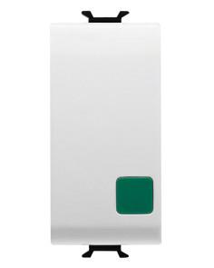 Кнопка (NO+NC) 1P одномодульный с индикатором
