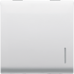 Переключатель промежуточный 1Р двухмодульный с подсветкой