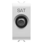 TV-SAT розетка одномодульная