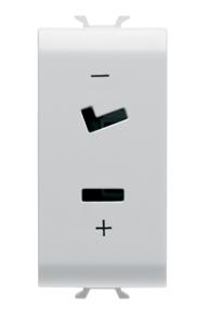 Розетка для вспомогательных цепей SELV, для штырей штепселя плоский