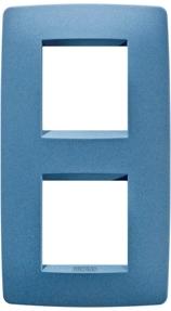2 — местная рамка (вертикальная), расстояние между центрами 71 мм