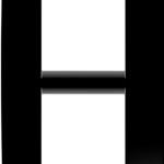 2 — местная рамка (вертикальная), расстояние между центрами 57 мм
