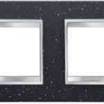 2-местная рамка из камня (горизонтальная)