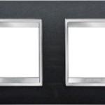 2-местная рамка из технополимера (горизонтальная)