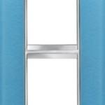 2-местная рамка из стекла (вертикальная) LUX INTERNATIONAL