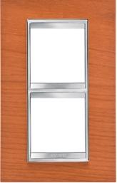 2-местная рамка из дерева  (вертикальная) LUX INTERNATIONAL