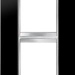 2-местная рамка из технополимера (вертикальная) LUX INTERNATIONAL