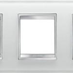 3-местная рамка из стекла (горизонтальная)