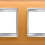 4-местная рамка из стекла (горизонтальная)