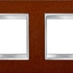 4-местная рамка из металла (горизонтальня)