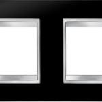 4-местная рамка из технополимера (горизонтальная)