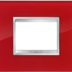 2-местная рамка из стекла FLAT