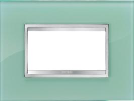 3-местная рамка из стекла FLAT