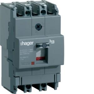 Силовой автоматический выключатель  серии x160, TM фикс., 3P,  63 A,  18kA