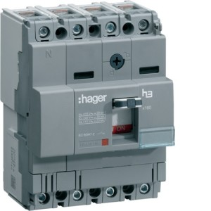 Силовой автоматический выключатель  серии x160, TM фикс., 4P,  16 A,  18kA