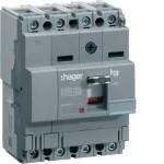 Силовой автоматический выключатель  серии x160, TM фикс., 4P,  63 A,  18kA