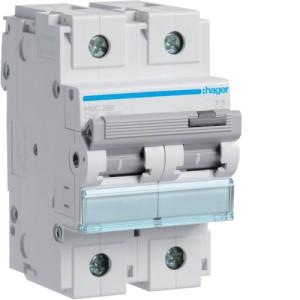 Миниатюрный автоматический выключатель 2 полюс 80А  15kA характеристика B 3м