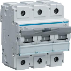 Миниатюрный автоматический выключатель 3 полюс 80А 15kA характеристика C 4,5м
