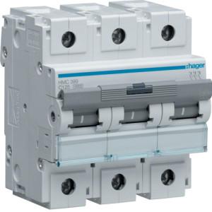 Миниатюрный автоматический выключатель 3 полюс 125А 15kA характеристика C 4,5м