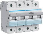 Миниатюрный автоматический выключатель 4 полюс 80А 15kA характеристика D 6м